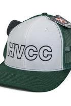 HVCC Mesh Back White/Green Hat