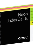 Oxford Neon Index Cards
