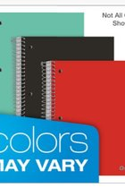 1, 3 and 5 Subject Notebook