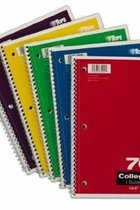 1, 3 and 5 Subject Notebooks
